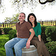 Gainey Vineyard: Ryan & Daphne
