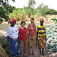 Diapaga, garden project