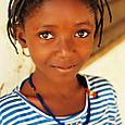 Diapaga, fulani girl
