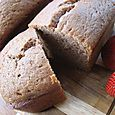 Garden Party Strawberry Bread