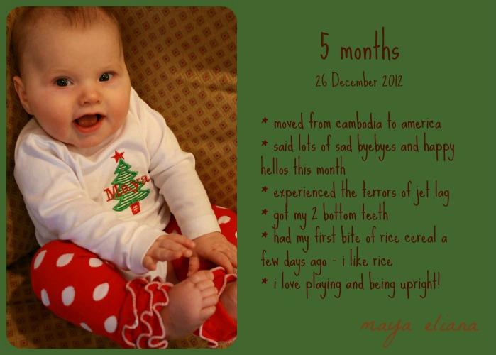 5 Month Photo